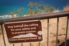 Diamond Head Volcano.