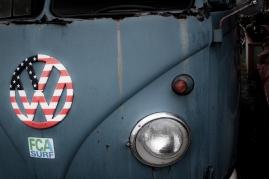 Hippie Van in Haleiwa.