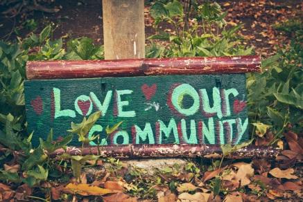 Love Our Community Edible Bike Path.