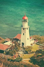 Diamond Head Lighthouse.