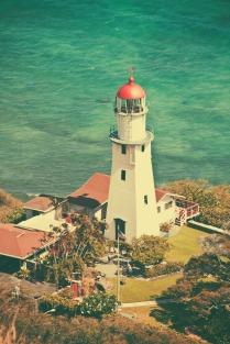 Diamond Head Lighthouse.