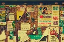Haleiwa Town Bulletin Board.
