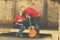 Railroad Bridge Kiss